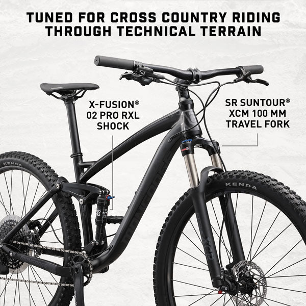 Mongoose Salvo Comp Full Suspension MTB Trail Bike