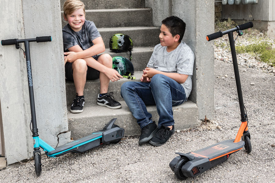 Mongoose React E1 Kids Electric Scooter