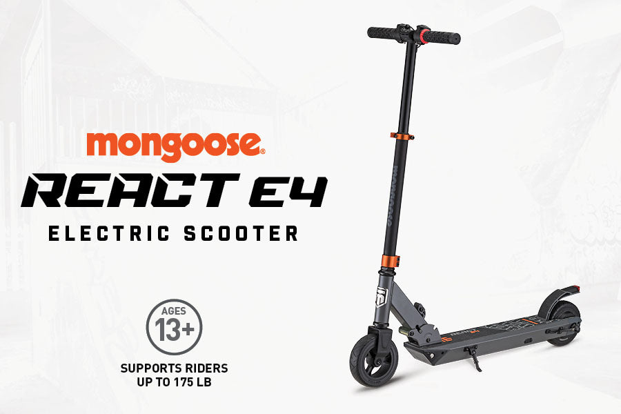 Mongoose React E4 Electric Scooter