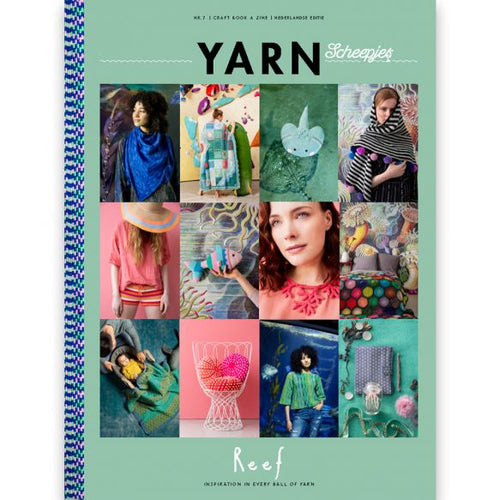 Scheepjes yarn bookazine 7-Reef