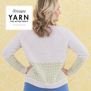 YARN THE AFTER PARTY BIRD'S EYE CARDIGAN