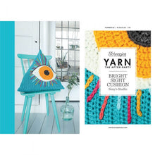 Load image into Gallery viewer, SCHEEPJES YARN THE AFTER PARTY BRIGHT SIGHT CUSHION