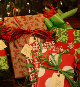HOLIDAYS**********Christmas wrapping