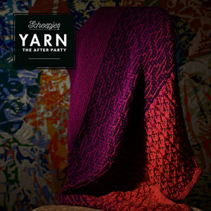 BOOKS AND BOOKLETS YARN THE AFTER PARTY EASTERN SUNSET SHAWL