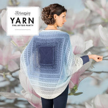 Load image into Gallery viewer, SCHEEPJES YARN THE AFTER PARTY INDIGO SHRUG