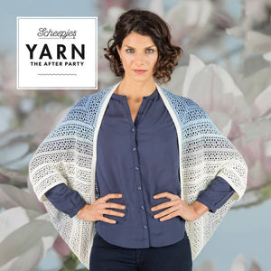 SCHEEPJES YARN THE AFTER PARTY INDIGO SHRUG