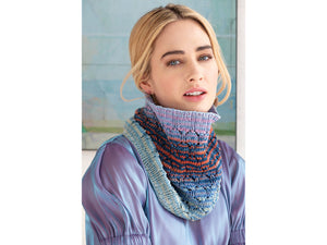 Lacy cowl-Urth Yarns kit- Uneek cotton 1073