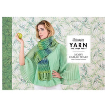 Load image into Gallery viewer, BOOKS AND BOOKLETS YARN THE AFTER PARTY MOSSY CABLED SCARF