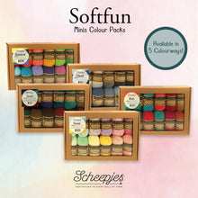 Load image into Gallery viewer, Scheepjes Softfun Colour Packs