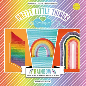 BOOKS AND BOOKLETS SCHEEPJES PRETTY LITTLE THINGS NO. 06 - RAINBOW