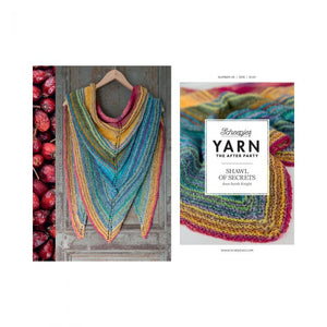 BOOKS AND BOOKLETS YARN THE AFTER PARTY SHAWL OF SECRETS