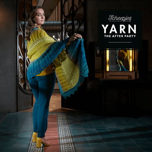 SCHEEPJES YARN THE AFTER PARTY VENCE WRAP