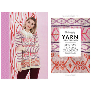 Books and Booklets YARN THE AFTER PARTY NO.102 SUNDAY FUNDAY CARDIGAN