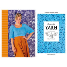 Load image into Gallery viewer, BOOKS AND BOOKLETS YARN THE AFTER PARTY N. 106 LITTLE LACE DIAMOND TEE