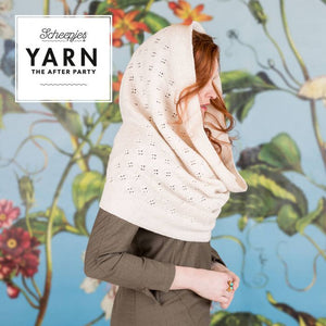 SCHEEPJES YARN AFTER PARTY SPRINGTIME HOODED COWL N.26