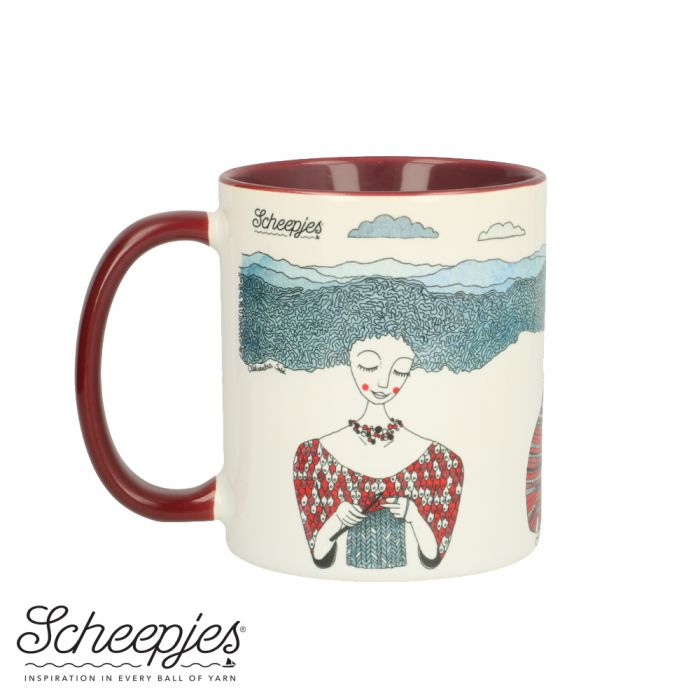 Scheepjes Collectible Mug by Aleksandra Sobol
