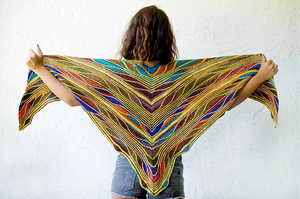 Butterfly Papillon Shawl Kit