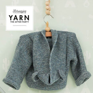 SCHEEPJES YARN THE AFTER PARTY N.112 BILLY BEAR JACKET