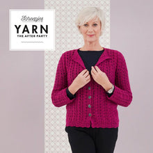 Load image into Gallery viewer, SCHEEPJES YARN THE AFTER PARTY THE POSY CARDIGAN N.48