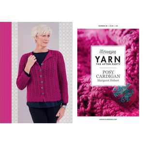 SCHEEPJES YARN THE AFTER PARTY THE POSY CARDIGAN N.48