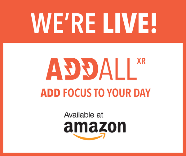 We're Live and Now Available on Amazon!