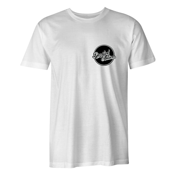 Limited Edition 'Beer Coaster' T-Shirt - White