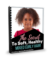 The Secret To Soft, Healthy Mixed Curly Hair