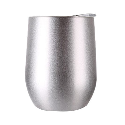 Stainless Steel Wine Cup with Lid - Adult Sippy Cup