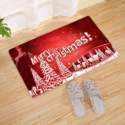 Personalized Christmas Doormat