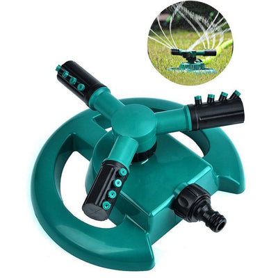 360 Degree Garden Sprinkler - Automatic Water Sprinkler