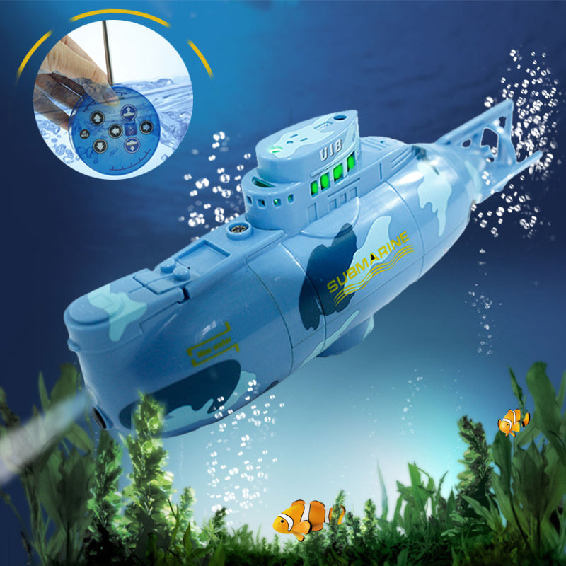 Mini RC Submarine With Radio Control & LED