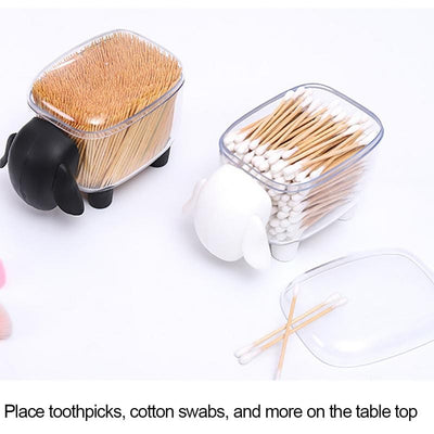Cute Transparent Sheep Shaped Toothpick Holder 1