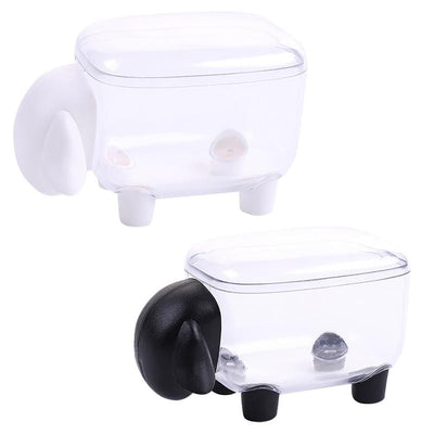 Cute Transparent Sheep Shaped Toothpick Holder 2