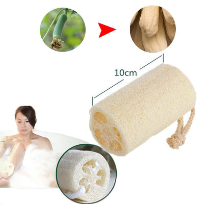 3 Pcs High-quality Loofah Sponge Set - Shower Loofah Sponge