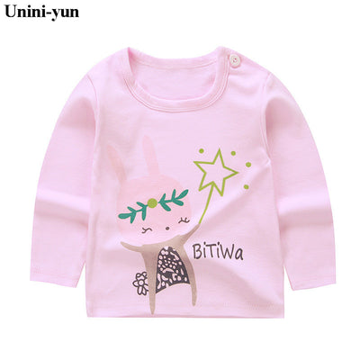 Baby Unisex Full Sleeve Tops - Unique Print Toddler T-Shirts