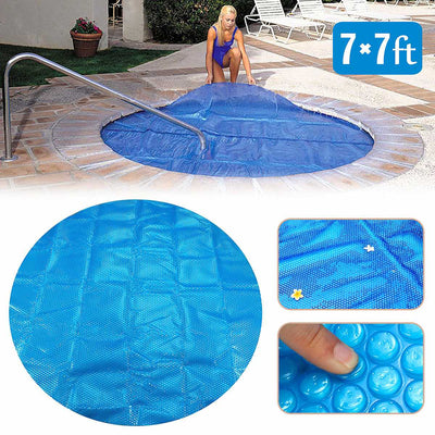 Round 7ft Solar Pool Cover Winter Pool Covers Solar Blanket