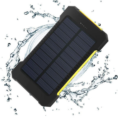 20000mAh Solar Powerbank - Dual USB External Battery Charger