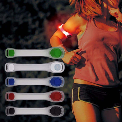 Led Light Arm Strap - Wearable Safety Light for Outdoor Exercises
