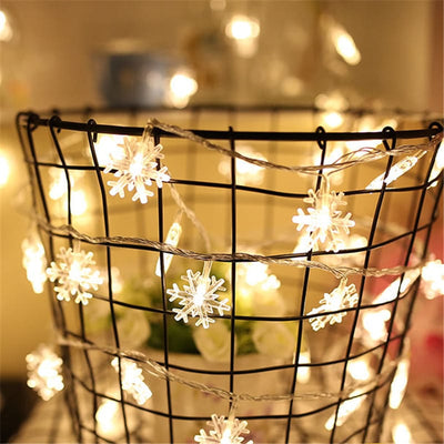 LED Star String Lights - Christmas Fairy Lights