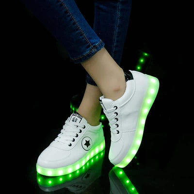 Light Up Shoes - Unisex Led Glow Light Sneaker Shoes