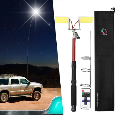 3.75M 12V Telescopic LED Fishing Rod Lantern