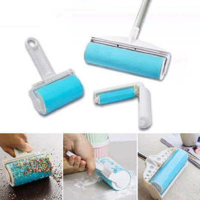 Buddy Picker - 3 Pieces Reusable and Washable Lint Roller Set