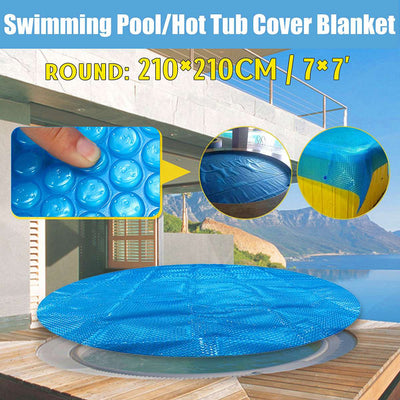 Round 7ft Solar Pool Cover Winter Pool Covers Solar Blanket 1