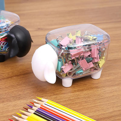 Cute Transparent Sheep Shaped Toothpick Holder 3