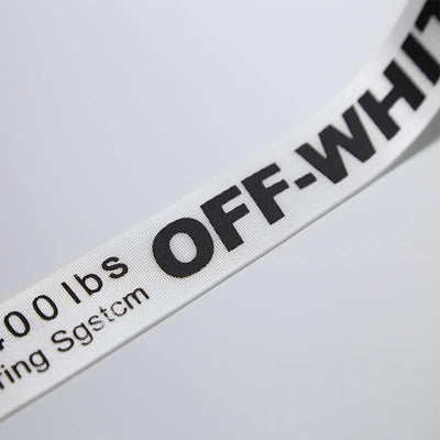 Off-white Industrial Belt 3