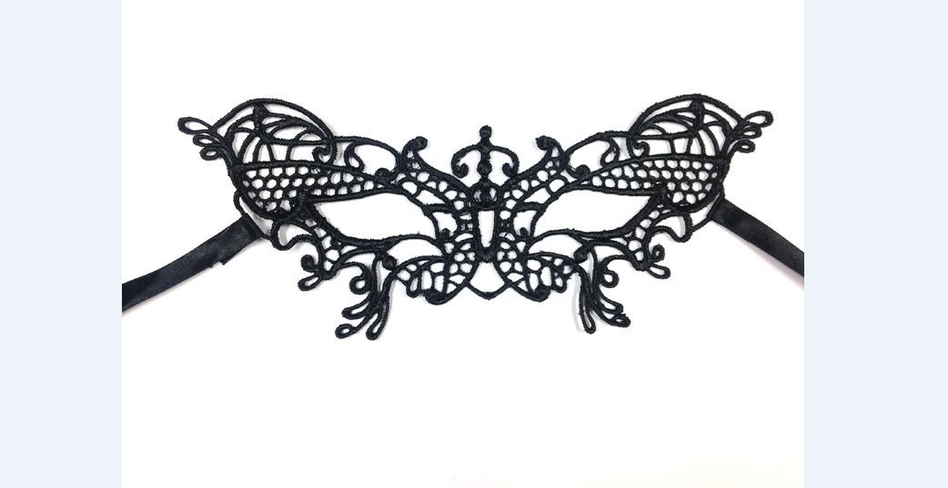 Masquerade Lace Party Mask - Halloween Sexy Women Mask 3