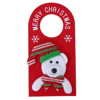 Home Decorations for Christmas - 5Pcs Christmas Door Hanging