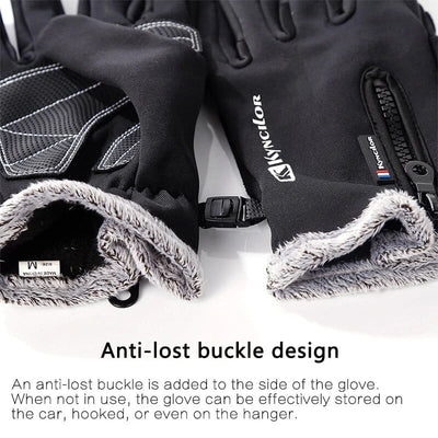 Outdoor Waterproof Gloves - Non-slip Winter Cycling Gloves