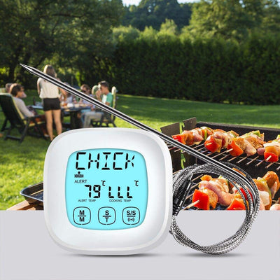 Meat Thermometer - Touch Screen Digital Food Thermometer