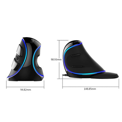 Ergonomic Vertical Gaming Mouse - Vertical USB Mouse